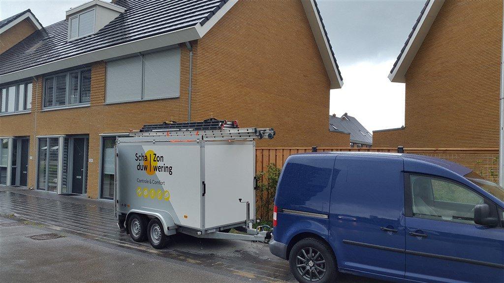 Rolluiken monteren in Parkwijk