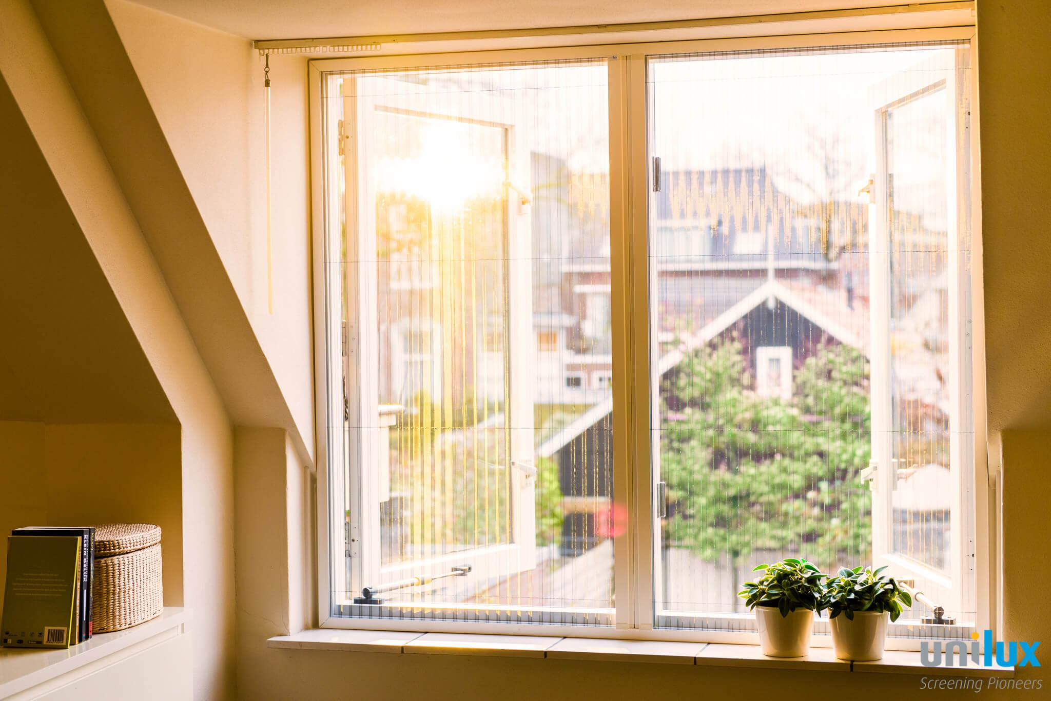onzichtbare en plissé raamrolhorren, passend in uw interieur