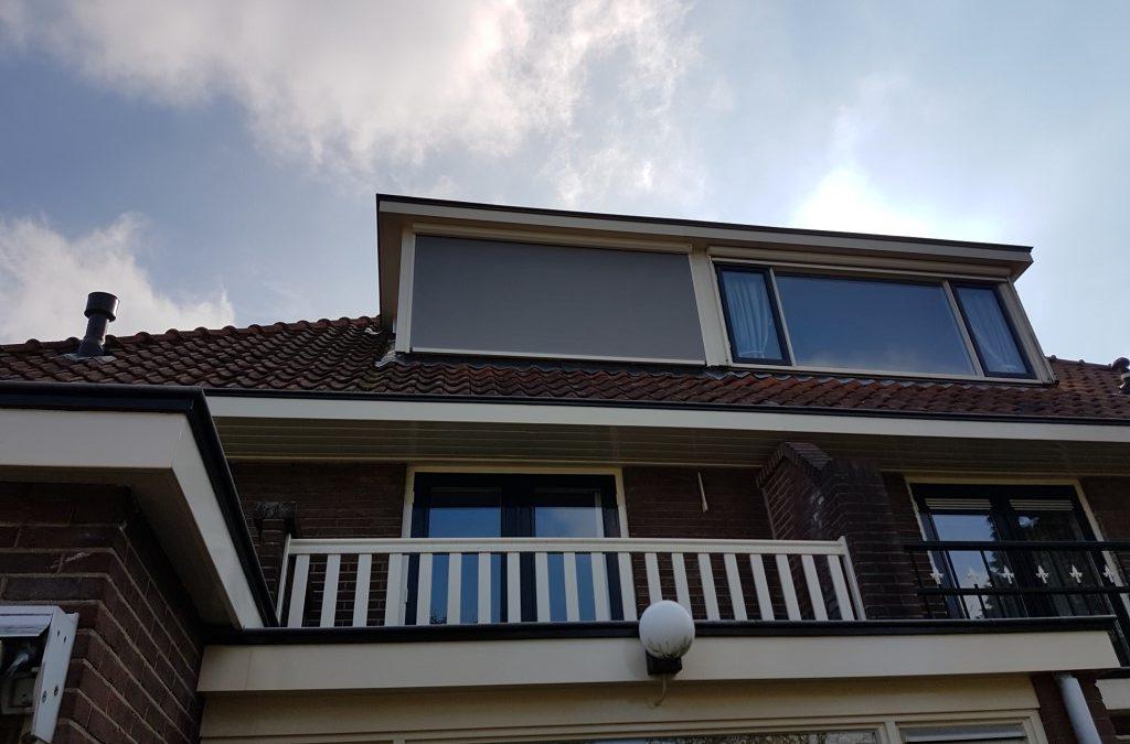 Ritsscreen Vleuten op dakkapel