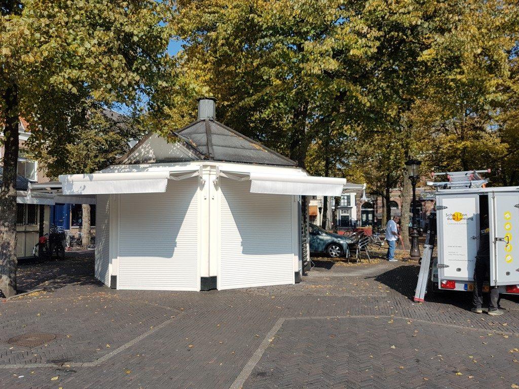 Terrasschermen horeca Utrecht centrum
