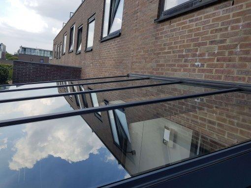 Verano Ledro terrasoverkapping met glazen dak
