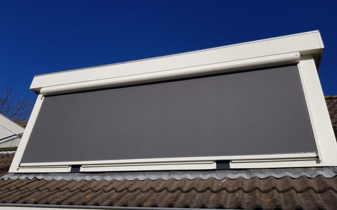 Ritsscreen gemonteerd op dakkapel in Vianen